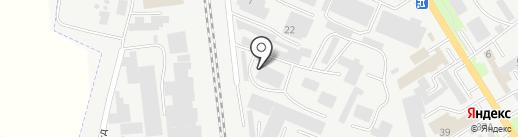 Горизонт-КМВ на карте Пятигорска