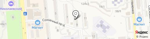 Юг-вывески на карте Лермонтова
