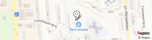 Ветеринарный участок на карте Лермонтова