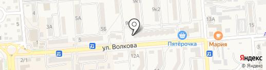 Настенька на карте Лермонтова