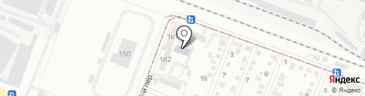 Библиотека №6 на карте Пятигорска