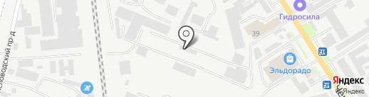 Металлоторг на карте Пятигорска