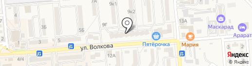 Ювелирный на карте Лермонтова