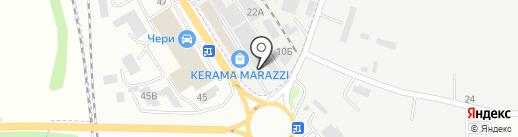 Салон-магазин на карте Пятигорска