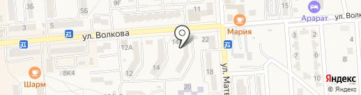Ковэкс на карте Лермонтова