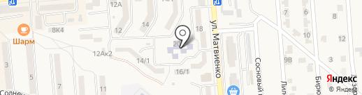 Детский сад №14 на карте Лермонтова