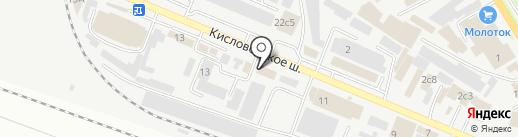 Евроклимат на карте Пятигорска