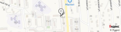 Апрель на карте Лермонтова