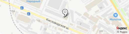 Двери на карте Пятигорска