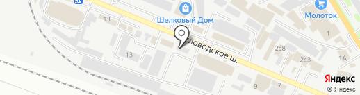 Технотэкс на карте Пятигорска