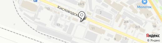 Мега-Мастер+ на карте Пятигорска