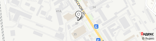 Металлобаза 37 на карте Пятигорска