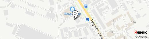 Реклама-Сервис на карте Пятигорска