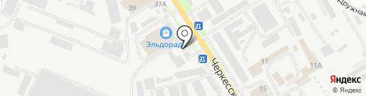 ЭлектроСвет на карте Пятигорска