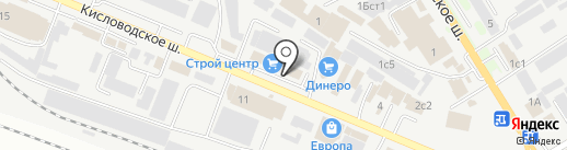 КреативМебель26 на карте Пятигорска