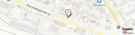 Магазин на карте Пятигорска