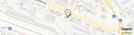 КИТ на карте Пятигорска