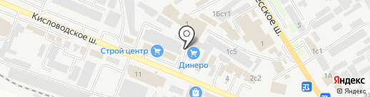STANDART PRO на карте Пятигорска