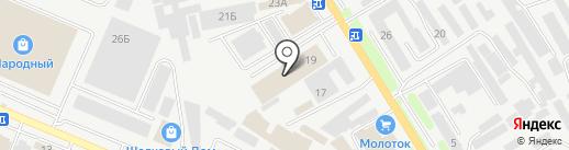 Полиарк Ставрополь на карте Пятигорска