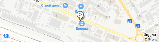 Столетье мебели на карте Пятигорска