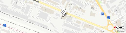Модуль-С на карте Пятигорска
