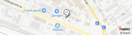Строительная Лавка на карте Пятигорска