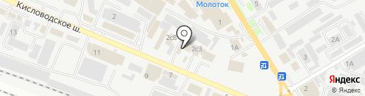 Авторская студия на карте Пятигорска