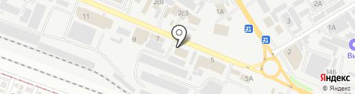 Паркет Стиль на карте Пятигорска