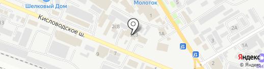 СанСити на карте Пятигорска