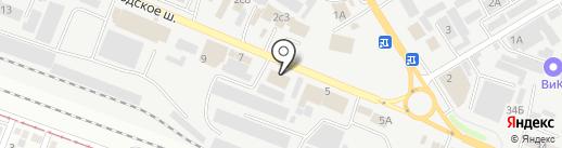 Магазин керамической плитки и керамогранита на карте Пятигорска