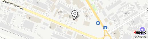 Модные обои на карте Пятигорска