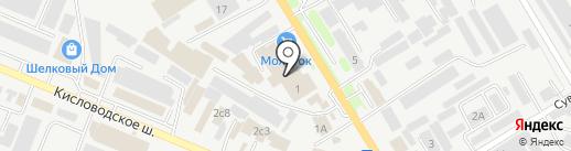 МС Строй на карте Пятигорска