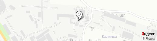 Автодор КМВ на карте Пятигорска