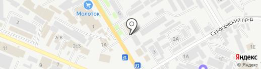 ГРАЖДАНСПЕЦОБОРУДОВАНИЕ на карте Пятигорска
