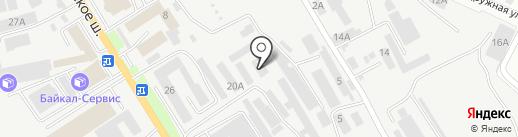 Кедр-92 на карте Пятигорска