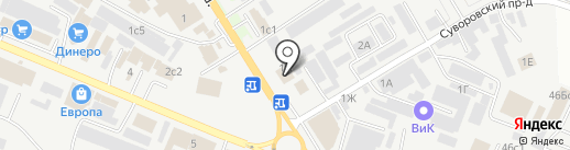 INTERIO на карте Пятигорска