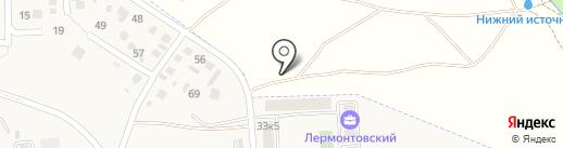 Наследие на карте Лермонтова