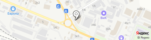 Шик на карте Пятигорска