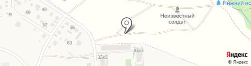 Лермонтовский на карте Лермонтова