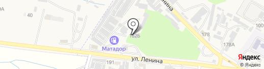 Авраменко А.В. на карте Железноводска