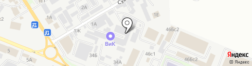 Электра на карте Пятигорска