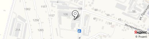 Спецметаллкомплект на карте Железноводска