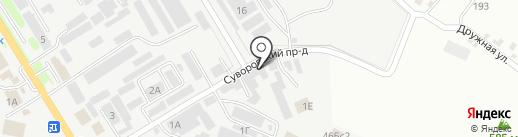 СевКавПласт на карте Пятигорска
