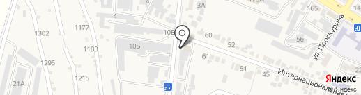 Железноводскгоргаз на карте Железноводска