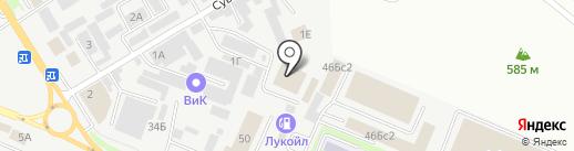 Ремонтно-инженерный центр на карте Пятигорска