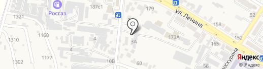 Автоколонна 2066, МУП на карте Железноводска