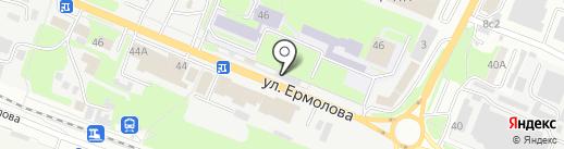 Waterland на карте Пятигорска