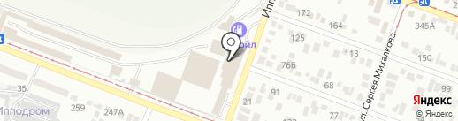 СНЕГ на карте Пятигорска