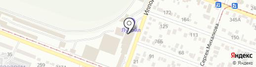 Технопро на карте Пятигорска