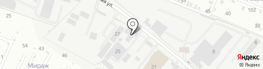 Мелиса на карте Пятигорска